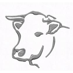 Kuh für Hut/Cap