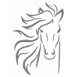 Pferd für Hut/Cap