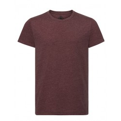 T-Shirts-Jungs / burgundy