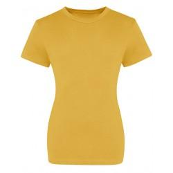 BW-Shirts-Mädels / senf