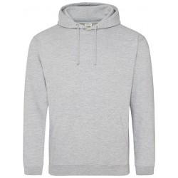 Hoodie-heather grey